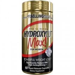 Hydroxycut Max for Womens 60 caps