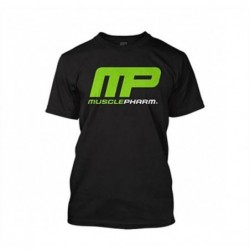 Gym Polo Muscle Pharm Black